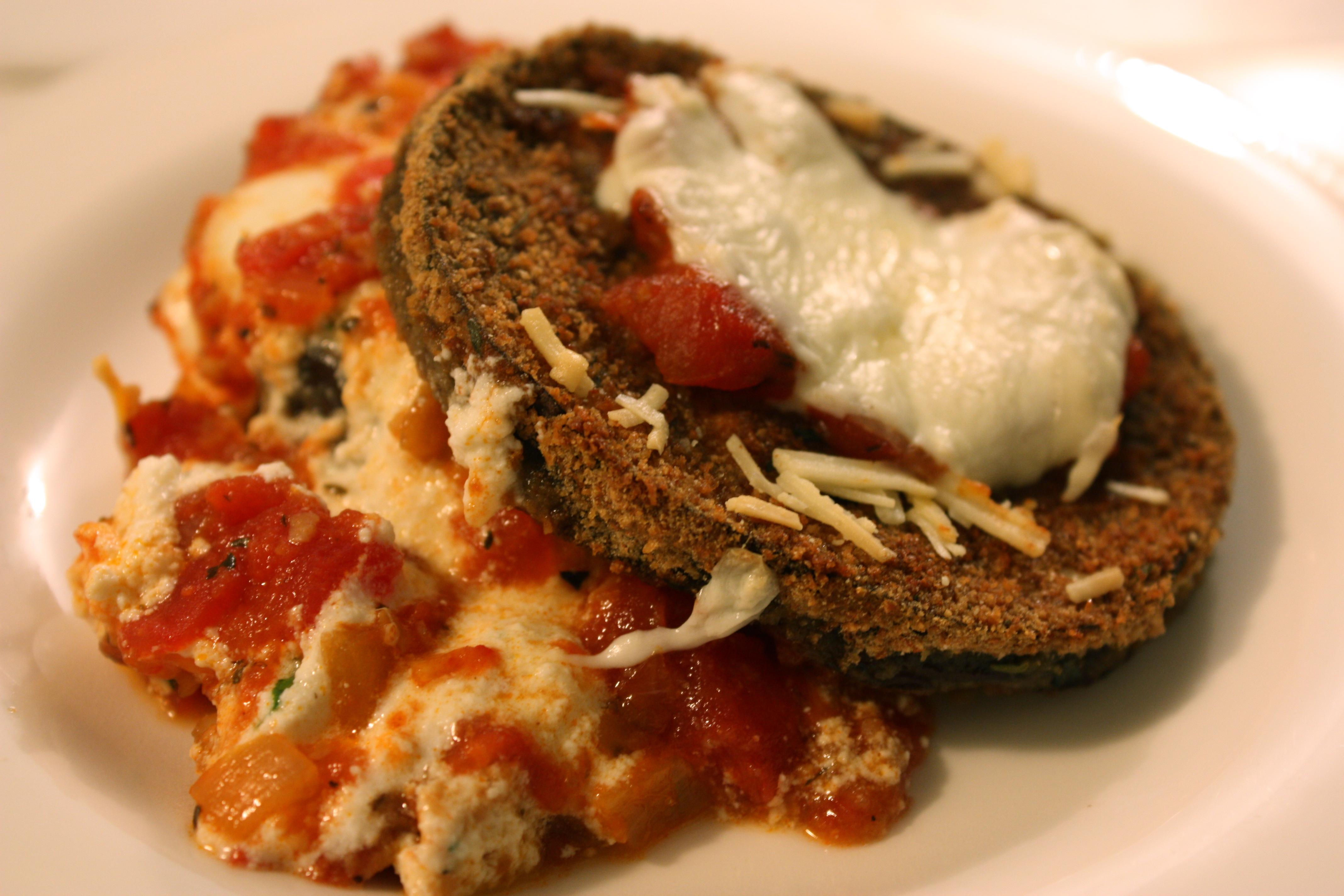 Baked Eggplant Parmesan | Foodologie