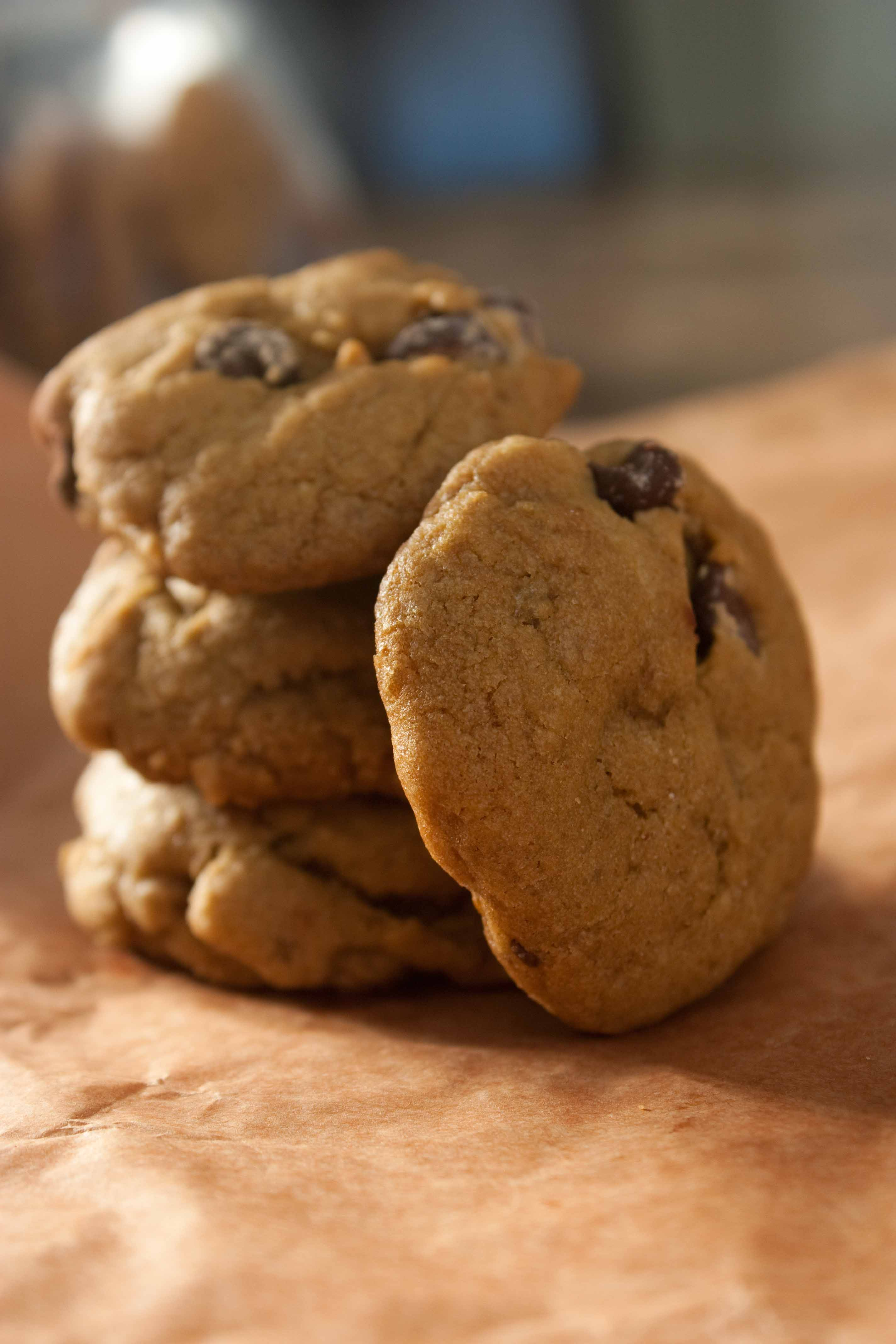 Double Ginger Chocolate Chip Cookies | Foodologie