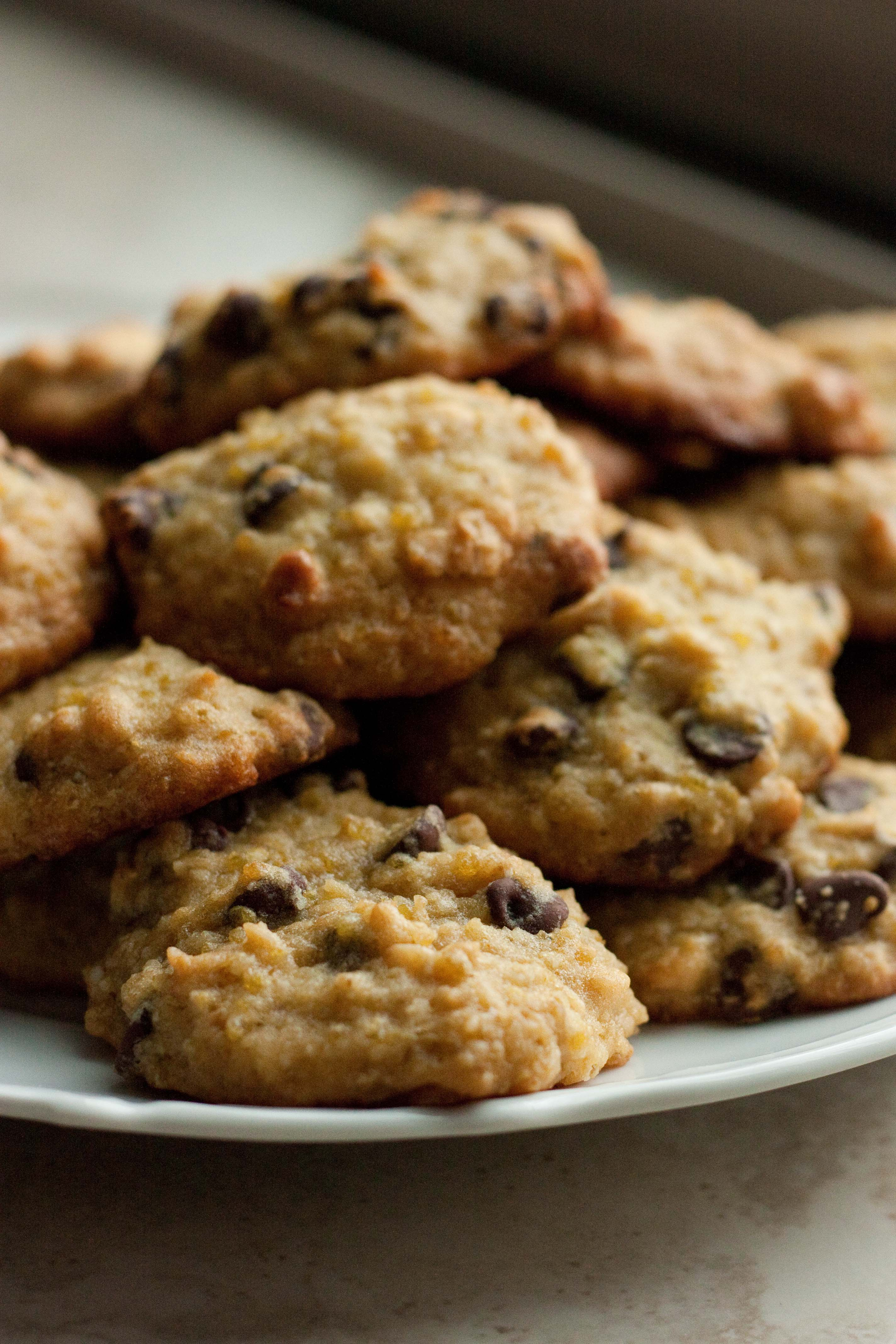 Quinoa Almond Chocolate Chip Cookies | Foodologie