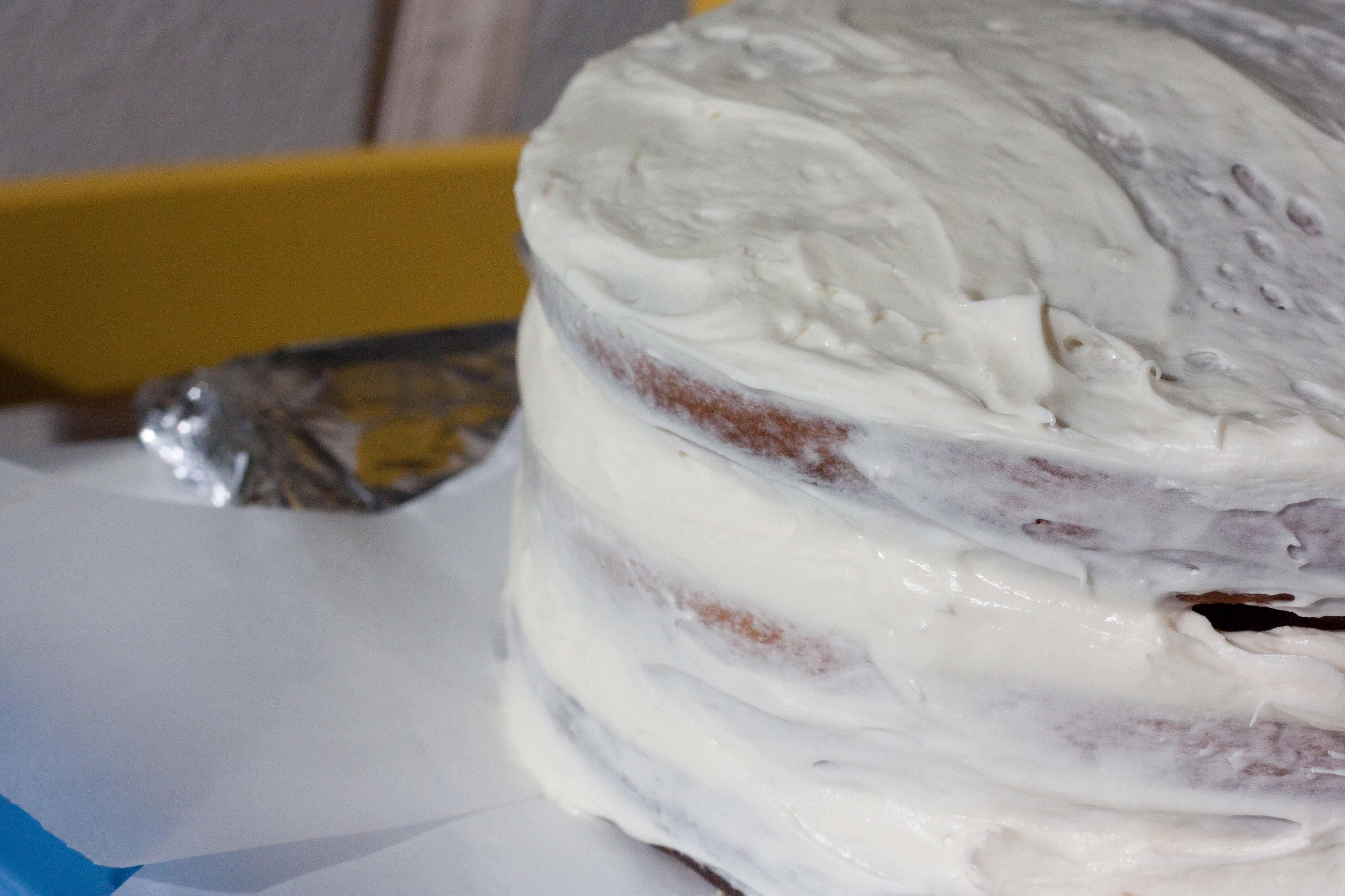 Rum custard cake filling recipe