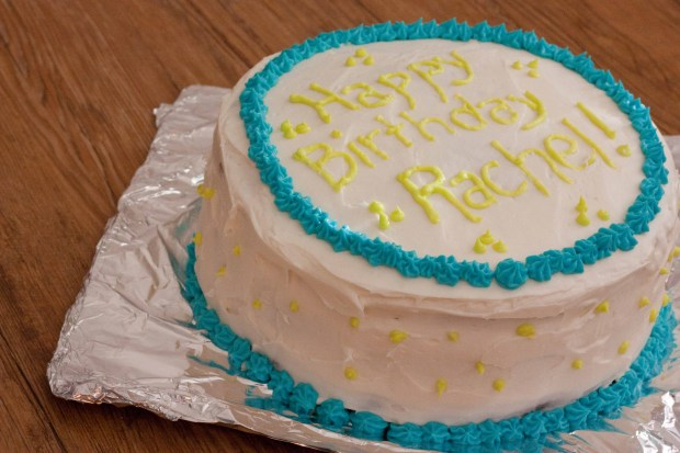 Rum Layer Cake with Coconut Custard Filling | Foodologie