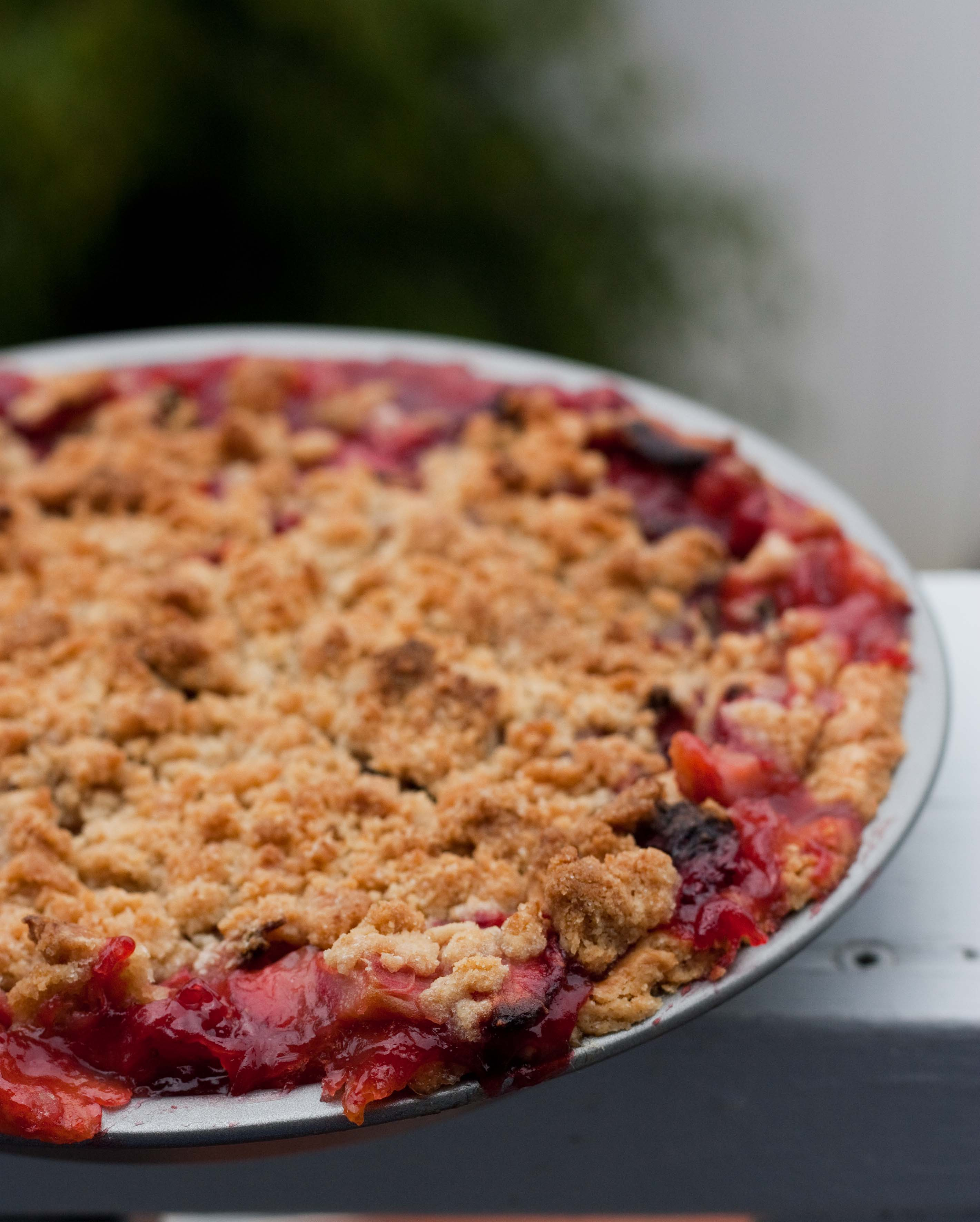 Strawberry Rhubarb Pie (…with A Touch Of Bourbon)