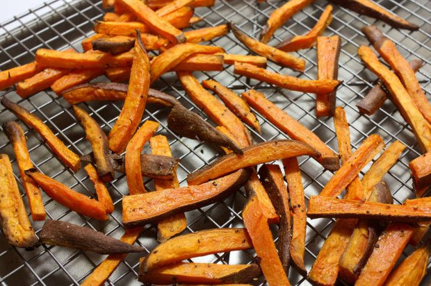 bakedsweetpotatoefries