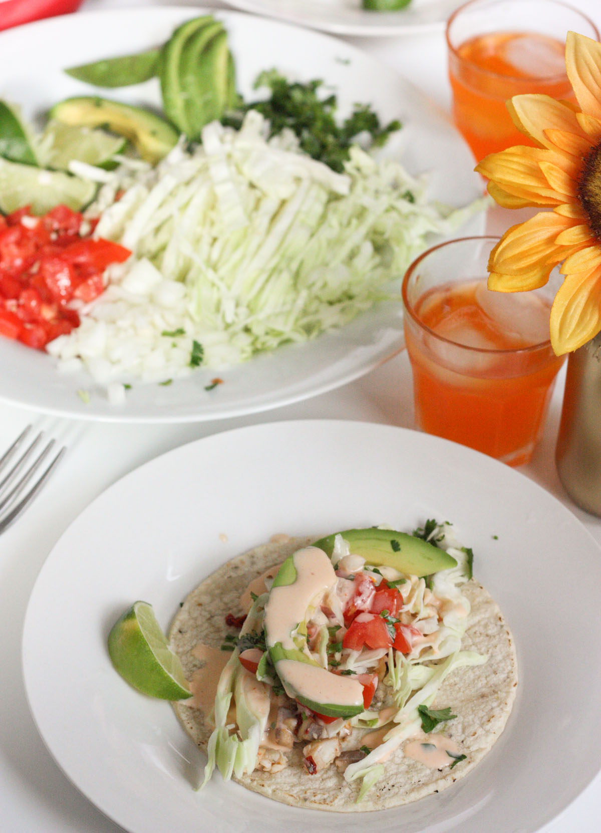 Chipotle Fish Tacos – Foodologie