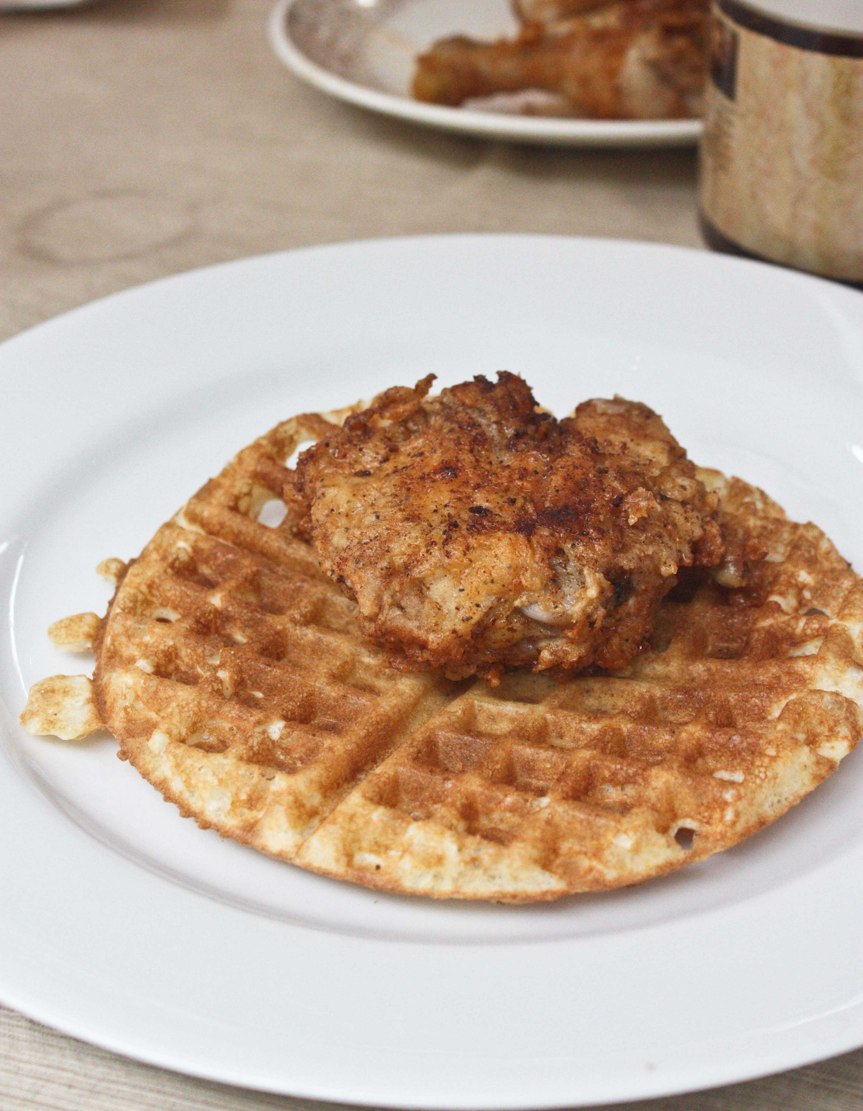 How to Have a Fried Chicken and Waffles Party | Foodologie