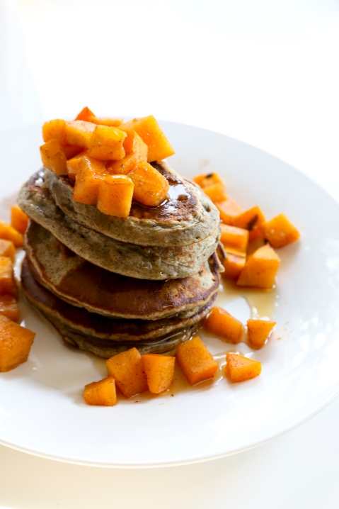 Pancakes with Persimmon2