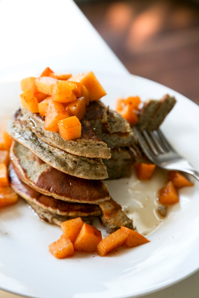 Pancakes with Persimmon4