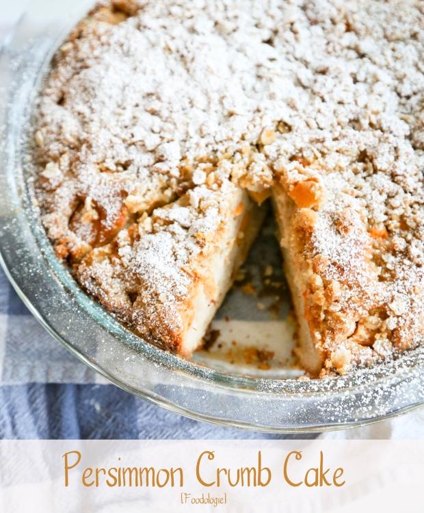 Persimmon Crumb Cake1