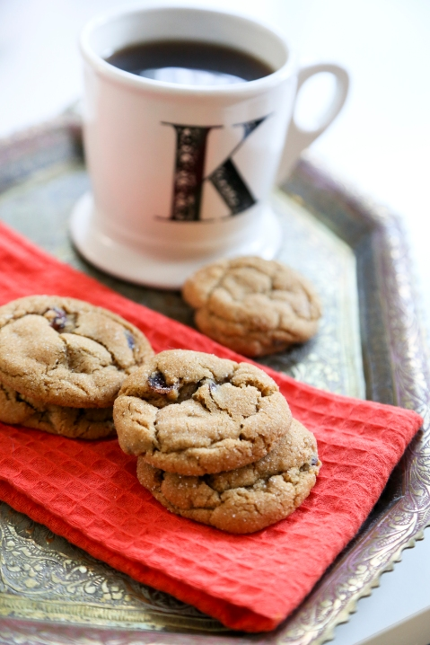 Molasses Cranberry Cookies4