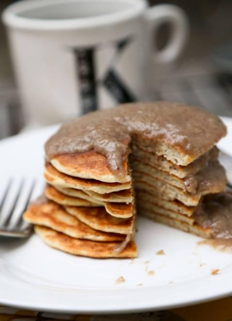pancakesbananasyrup