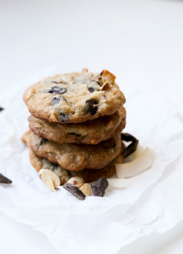 Almond Coconut Choc Chip Cookies1