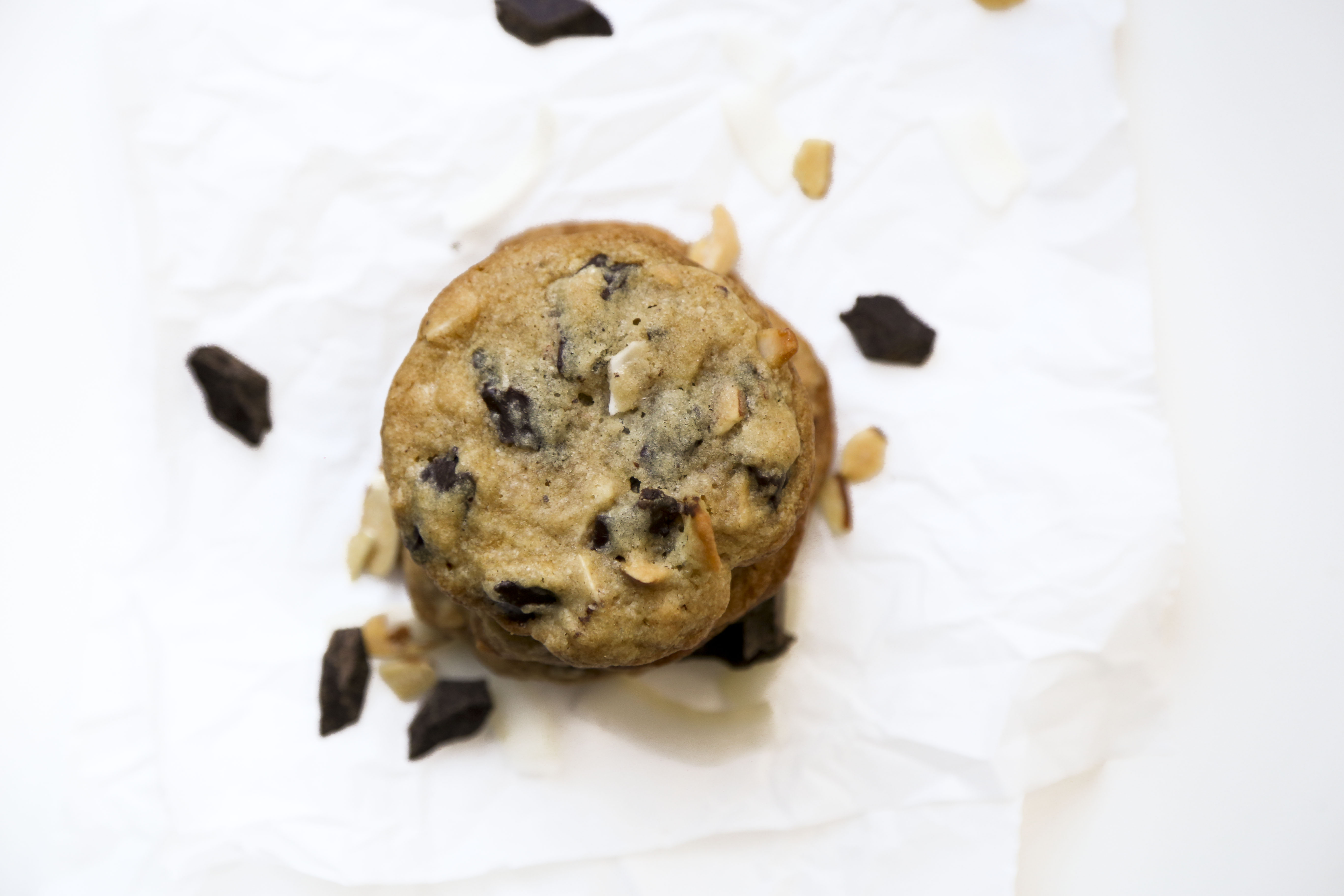 Almond Coconut Choc Chip Cookies2