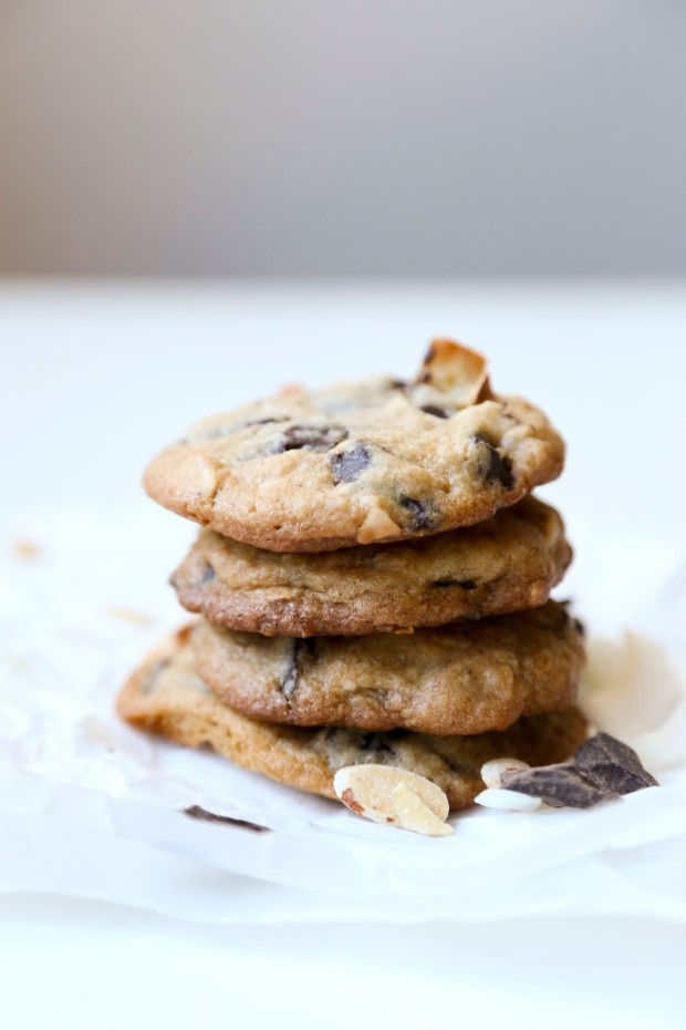 Almond Coconut Choc Chip Cookies3